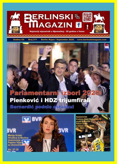 Berlinski magazin broj 211 -  09/2020